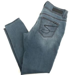 Seven7 Jeans - Seven7 Stretch Denim Legging Blue Gray Size 10